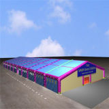 Chromatic Large Event Show Exhibition Tent with Glass Wall & Decoration Linings