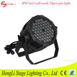 RGBW 54PCS 3watt Waterproof LED Wall Washer Light for Stage