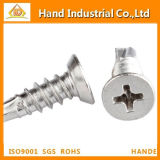Ss316 Phillips Csk Head Drilling Screw