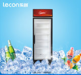 Single Glass Door Display Cooler with Wheels