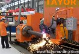 5 Axis Od: 50-630mm CNC Pipe Profile Plasma Cutting Machine