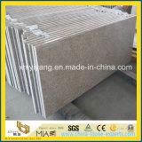 Prefabricated G611 Almond Mauve Granite Countertop