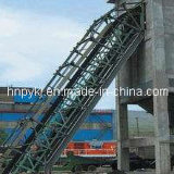 Xinxiang Pk Steeply Corrugated Sidewall Inclined Belt Conveyor equipment