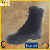 2017 New Design Genuine Leather Cheap Police Safety Boots