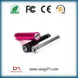 Mobile Phone 2600mAh Metal Portable Powerbank Li-ion Battery