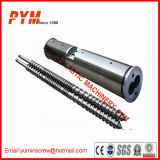 Bimetallic Coating Conical Twin Screw Barrel