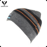 Factory Direct Hot Sale Stripe Knit Bluetooth Beanie Music Hat