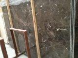 China Dark Emperador Slab for Interior Decoration