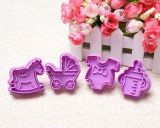 Hot Sale Cute Purple Biscuit Mold