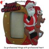 Best Quality Custom X′mas Soft PVC Photo Frame (YH-PF068)