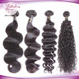 Wholesale Virgin Remy Hair Loose Wavy Peruvian Virgin Human Hair Extension
