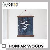 Magnetic Poster Hanger Frame Wooden Picture Photo Frame