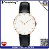 Yxl-246 Cryze Promotion Elegance Lady Dress Watch Leather Water Resistant Quartz Wrist Watch Diamond Casual Ladies Watch Women Men′s Watches