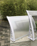 PC Rain Shelter Winter Canopy with Water Gutter for Door Window or Patio