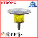 Yellow LED Construction Tower Crane Solar Warning Flash Light