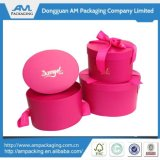Personalized Round Flower Box with Logo Hat Flower Packaging Paper Box Gift