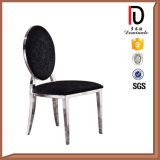 Executive Stainless Steel Leather Chair for Dining Room