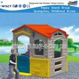 Kids Plastic Playhouse Small Playground Equipment (HF-20304)