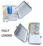 Waterproof ABS 12 Core Fiber Optic Distribution Box, FTTH Box