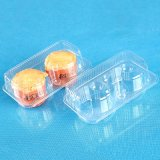 OEM disposable food bake plastic packaging clamshell box(pet container)
