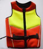 Reflective, Safety Vest, Swimwear, Water Sports Life Jacket (red/yellow)