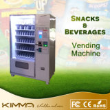 Cold Cans and Popcorn Vending Machine with Coin Acceptor