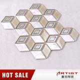 Irregular Glass Mosaic Mix Stone Tiles for Kitchen