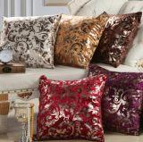 Linen Blend Decorative Cushion for Home Sofa (DPF107146)