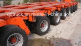 200 Ton Multi Axle Low Bed Heavy Duty Semi Trailer