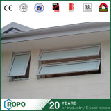Pvcu Australian Standard Frosted Glass Exterior Awning Window