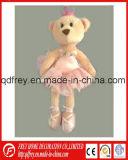 Hot Sale Plush Teddy Bear with Skirt, Crown