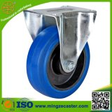 Cheap Price Black Rubber Wheels Fixed Caster for Trolley
