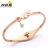 Stainless Steel Diamond Bracelet, Fashion Jewelry Gold Bracelets (hdx1121)