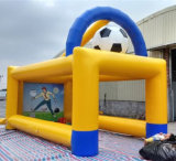 Funny Commercial Giant Football Shoot Inflatable Sports Game