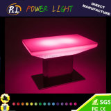 Plastic LED Furniture Illuminated RGB LED Dinner Table