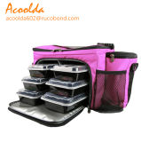 6pack Meal Bag Insulated Meal Prep Bag for Lunch with Multiple Pockets