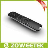 Zoweetek-Wireless Universal Keyboard Remot Control with Touchpad (ZW-52007) Black