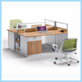 Custom Melamine and Metal Working Staff Affordable Executive Desk