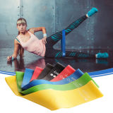 5 Different Levels 12 Inch Loop Resistance Band for Men and Women Exercise