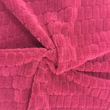 100% Polyester Grid 4 Jacquard Flannel Fleece