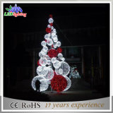 New Large 3D Ball Outdoor Metal Lighted Christmas Trees
