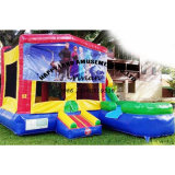 Inflatable Bouncer Combo with Removable Banner by Velcro