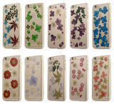 Ultra Thin Flower Printing Clear TPU Case for iPhone 6