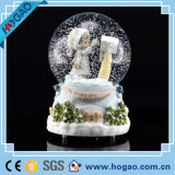2015 Christmas Decoration Gift Resin Water Globe