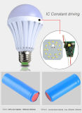 Rechargeable Intelligent LED Emergency Bulb AC/DC Rechargeable Lamp