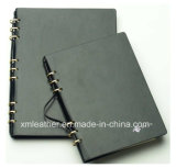 Custom Leather Academic Diary with Ring Binder