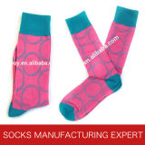 Men′s Casual Socks by 100% Cotton
