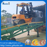Manual Mobile Yard Ramp for Loading/Unloading
