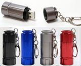 Portable Mini Keychain USB Aluminium Rechargeable Light USB Keychain