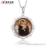 Fashion Charm Rhodium Baby -Woman -Shaped Imitation Jewelry Pendant for Religion Series-32502